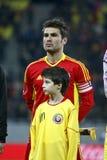 Rumänien-Uruguay freundliche Abgleichung Stockbilder