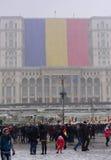 Rumäniens Nationaltag Stockbild