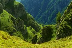 Rumänische Berge stockbilder