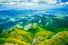 Rumänische Berglandschaft Lizenzfreie Stockfotografie