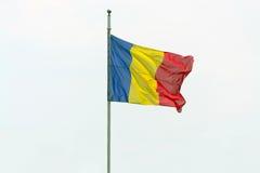 Rumänische Flagge Lizenzfreie Stockfotos