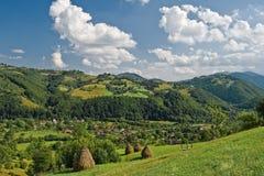 Rumänische Frühlingslandschaft Lizenzfreies Stockfoto