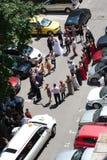 Rumänische Hochzeitstanz Stockbilder