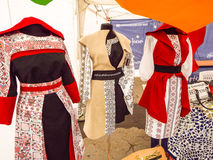 Rumänische Kostüme Stockfoto