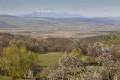 Rumänische Landschaft Lizenzfreies Stockbild