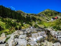 Rumänische Landschaft Stockfotografie