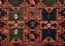 Rumänische nahtlose Mustervolksverzierungen Rumänische traditionelle Stickerei Ethnische Beschaffenheitsauslegung Traditionelles  Lizenzfreie Stockfotos