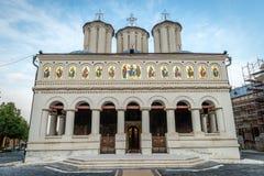 Rumänische orthodoxe patriarchalische Kathedrale in Bukarest lizenzfreie stockbilder