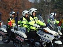 Rumänische Polizeibeamte Stockfotografie