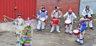 Rumänische Rituale lizenzfreies stockbild