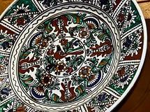 Rumänische traditionelle Keramik 17 Stockbild