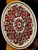 Rumänische traditionelle Keramik 19 Lizenzfreies Stockbild