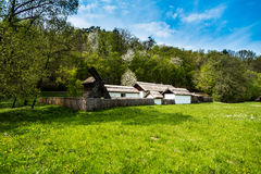 Rumänische Villa Stockfotos