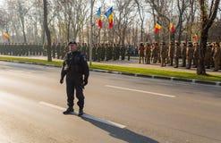 Rumänischer Gendarme Lizenzfreie Stockfotos