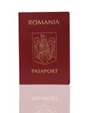 Rumänischer Paß Lizenzfreie Stockfotos