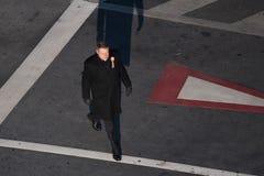 Rumänischer Präsident Klaus Iohannis stockfoto