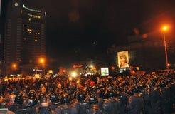 Rumänischer Protest 19/01/2012 - 11 Stockfoto