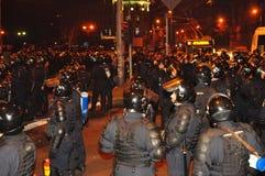 Rumänischer Protest 19/01/2012 - 9 Lizenzfreies Stockbild