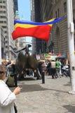 Rumänischer Tag in New York Stockbild