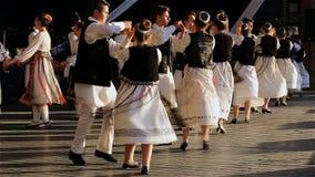 Rumänischer Tanz 2 stock footage