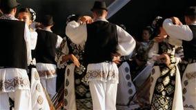 Rumänischer Tanz stock video footage