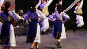 Rumänischer Tanz 1 stock footage