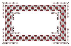 Rumänischer traditioneller Teppich Stockfotografie