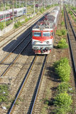 Rumänischer Zug Stockfoto