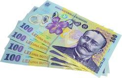 Rumänisches Bargeld Lizenzfreie Stockfotografie