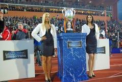 Rumänisches Cup Lizenzfreie Stockfotografie