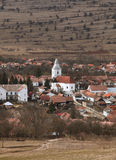 Rumänisches Dorf-Rametea Lizenzfreie Stockfotografie