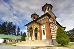 Rumänisches Kloster stockfotografie