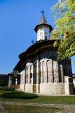Rumänisches orthodoxes Kloster Stockfotos