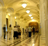 Rumänisches Parlament Stockfotografie