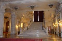Rumänisches Parlament Stockbild