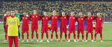 Rumänisches Team Stockfotos