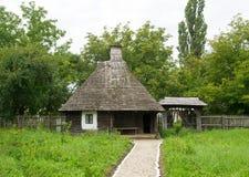 Rumänisches traditionelles Haus lizenzfreies stockfoto