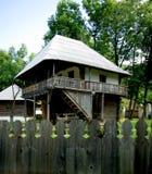 Rumänisches traditionelles Haus Stockfotos