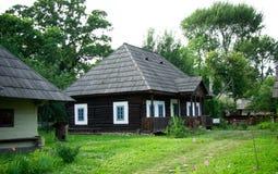 Rumänisches traditionelles Haus Lizenzfreies Stockbild