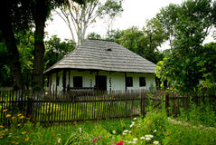 Rumänisches traditionelles Haus Stockfoto