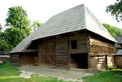 Rumänisches traditionelles Haus Stockfotografie