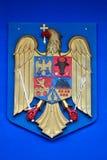 Rumänisches Wappen Stockfoto