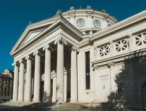Rumänsk Athenaeum arkivbild