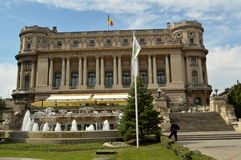 Rumänsk Athenaeum Royaltyfri Fotografi