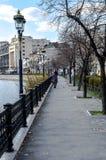 Rumänsk byggnad Fotografering för Bildbyråer