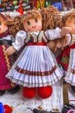 Rumänsk docka royaltyfria bilder