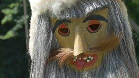 Rumänsk FolkTradional maskering lager videofilmer