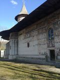 Rumänsk kloster arkivfoton