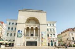 Rumänsk nationell opera Timisoara fotografering för bildbyråer
