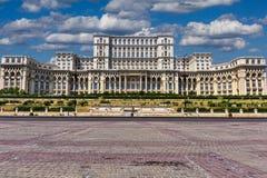 Rumänsk parlament Royaltyfria Bilder